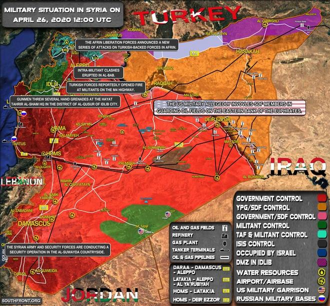 Mệnh lệnh chưa từng có của TT Trump khiến cả thế giới và Iran sửng sốt, lạnh gáy - Chiến sự Syria đột ngột căng thẳng - Ảnh 1.