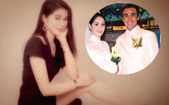 Nhan sắc thời trẻ của vợ đại gia MC Quyền Linh