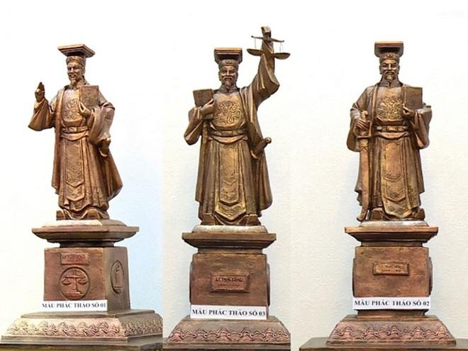 Vì sao Tòa án nhân dân tối cao chọn tượng vua Lý Thái Tông làm biểu tượng công lý? - Ảnh 1.