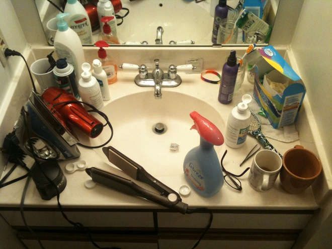 10 điều nếu để xuất hiện trong phòng tắm có thể khiến bất cứ chị em nào cũng phải phát điên - Ảnh 6.