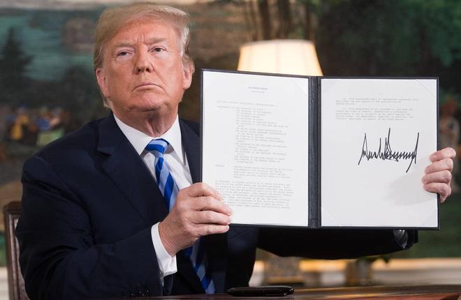 Muốn khuất phục Iran, chiến tranh là con đường duy nhất: Tổng thống Trump ra đòn cân não - Ảnh 1.