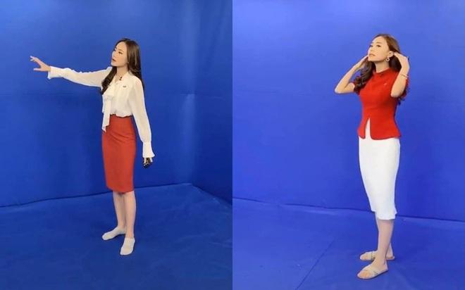 BTV thời tiết xinh đẹp Xuân Anh hé lộ hậu trường hài hước, không thể thấy trên tivi  - Ảnh 1.