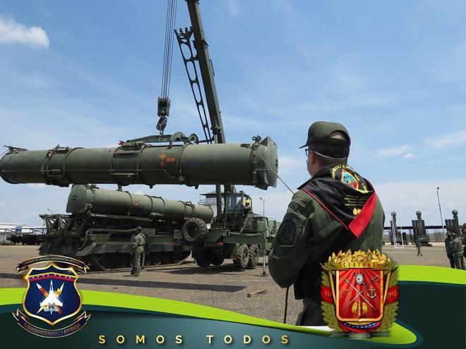 Tên lửa S-300V Venezuela vươn bàn tay tử thần: Chiến đấu cơ lạ đừng dại dột lại gần - Ảnh 2.