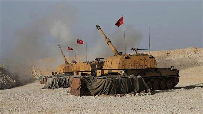 Thổ Nhĩ Kỳ tấn công căn cứ đầu não QĐ Syria, tướng cấp cao Syria tử trận - Máy bay Nga uy hiếp phiến quân ở Idlib - Ảnh 1.