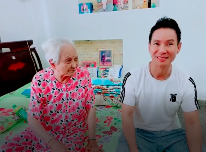 Mẹ ruột 94 tuổi giục Lý Hải sinh con thứ 5, hứa: 5 đứa thì nội nuôi - Ảnh 3.