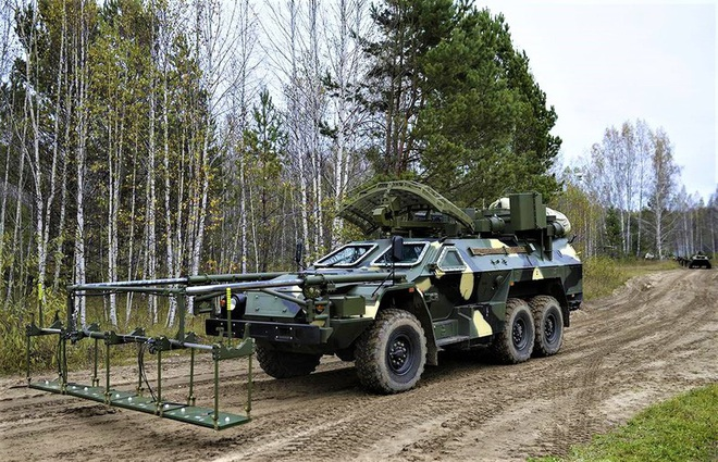 15М107 - Xe dò-phá mìn từ xa hoạt động theo nguyên lý vật lý mới của Nga - ảnh 1