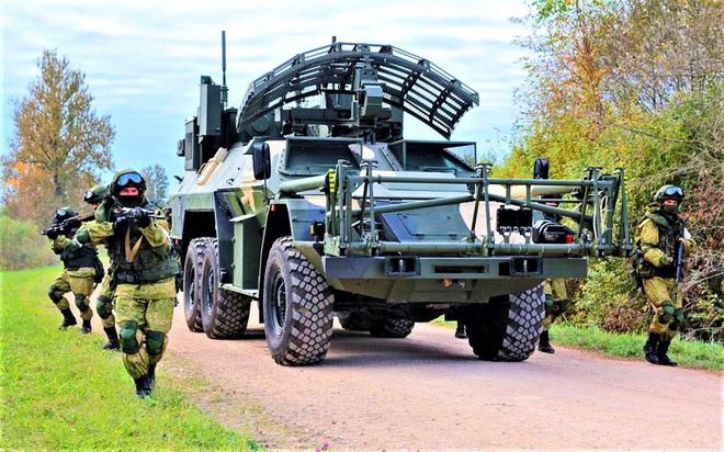 15М107 - Xe dò-phá mìn từ xa hoạt động theo nguyên lý vật lý mới của Nga - ảnh 2