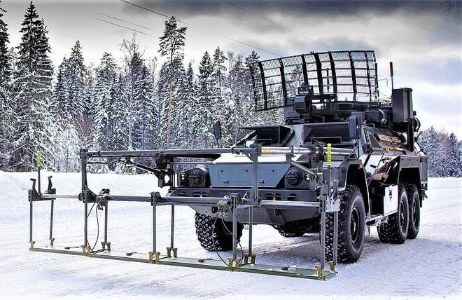 15М107 - Xe dò-phá mìn từ xa hoạt động theo nguyên lý vật lý mới của Nga - ảnh 3