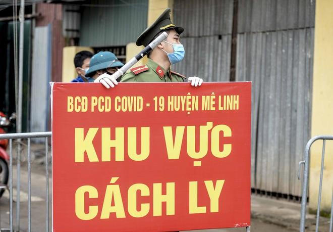 Cận cảnh thôn Hạ Lôi nơi bệnh nhân 243 mắc COVID-19 sinh sống ngày đầu cách ly - Ảnh 3.