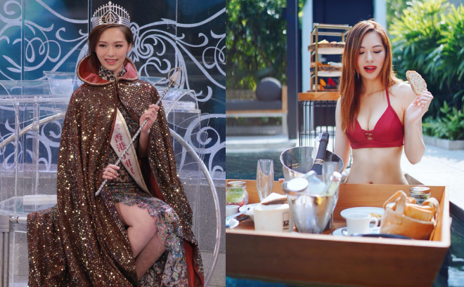 Hoa hậu Hong Kong bị bạn trai bỏ rơi vì đóng cảnh nóng táo bạo