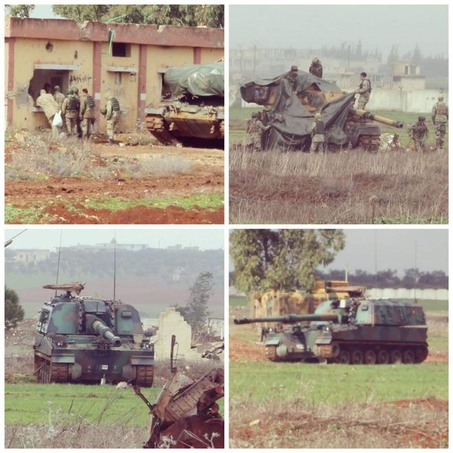 Hàng trăm xe tăng đối đầu ở tây bắc Syria: QĐ Thổ quyết được ăn cả, ngã về không? - Ảnh 1.