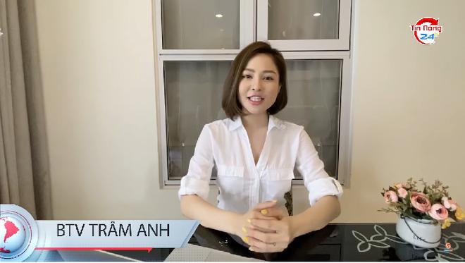 Hot girl Trâm Anh bất ngờ trở thành BTV - Ảnh 1.