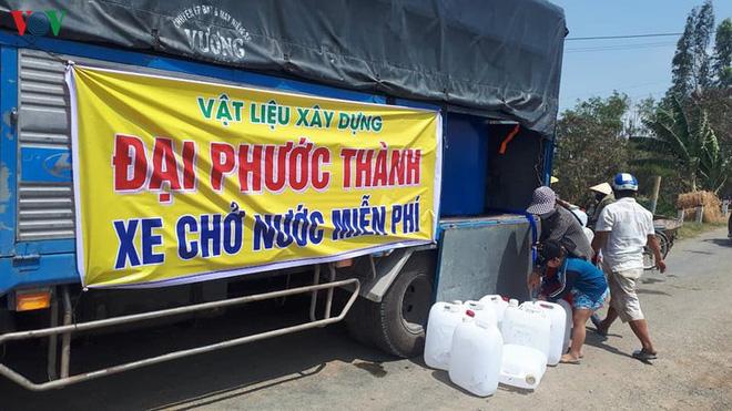 """Đưa nước ngọt về vùng """"đất khát"""" ở Tiền Giang - Ảnh 1."""