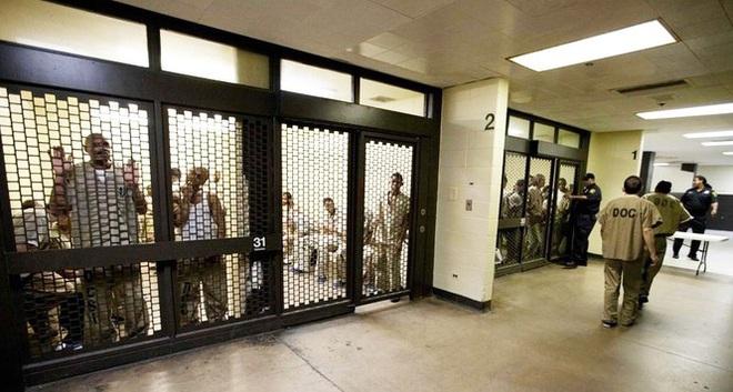Đi tù vì nhổ nước bọt vào cảnh sát New Zealand, nhà tù Mỹ thành ổ dịch lớn - Ảnh 3.