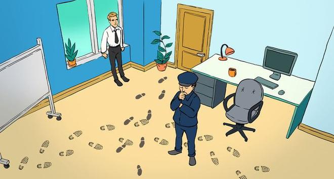 Thử tài phá án: Người tinh tường sẽ nhìn ra ai là thủ phạm đột nhập phòng kín - Ảnh 1.