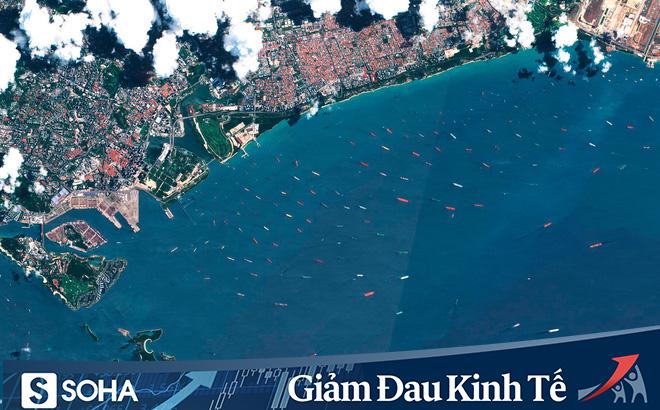 Thế giới đẫm mình trong dầu mỏ: Tàu chở dầu biến thành kho chứa nổi trên biển, kiên nhẫn xếp hàng vào bến