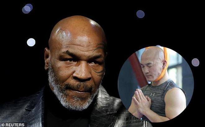 """Cao giọng thách thức Mike Tyson, """"đệ nhất Thiếu Lâm"""" chùn bước khi nhìn thấy """"bảng báo giá"""""""