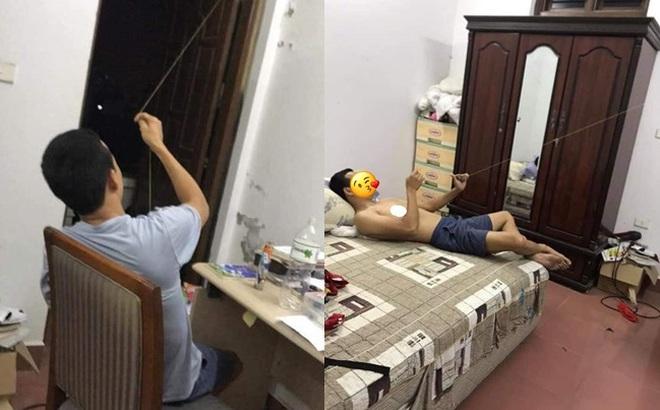 Người đàn ông khoe nằm trong nhà thả diều, hình ảnh con diều khiến dân mạng mỏi mắt tìm kiếm