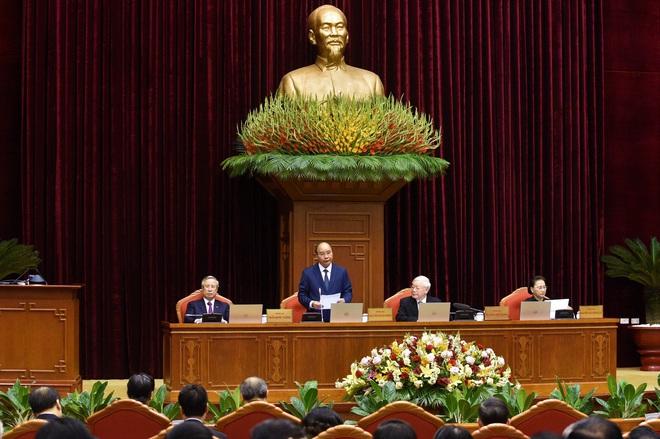 Chùm ảnh: Khai mạc Hội nghị Trung ương 12, khóa XII - Ảnh 5.