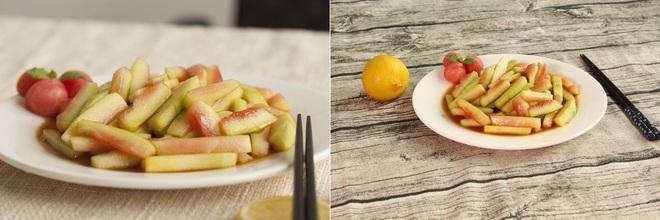 Hai món rau quả trộn chua ngọt làm nhanh cho bữa cơm ngày hè thêm ngon miệng - Ảnh 2.