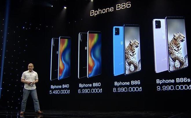 Vừa ra mắt, Bphone B86 đã bị chê đắt