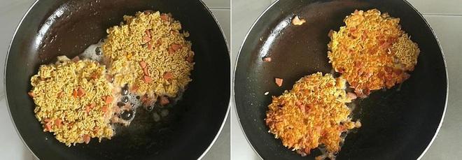 Dùng mì tôm làm bữa sáng ngon lạ đổi món cho cả nhà - Ảnh 3.