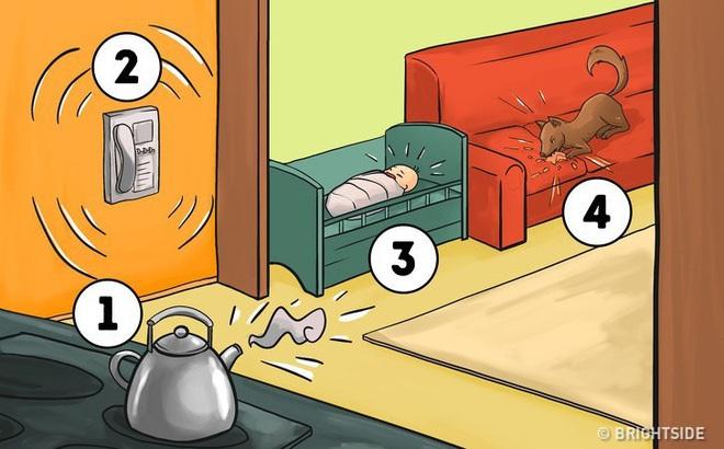 Sẽ làm gì đầu tiên trong 4 tình huống sau? Câu trả lời sẽ cho thấy tính cách bạn