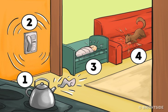 Sẽ làm gì đầu tiên trong 4 tình huống sau? Câu trả lời sẽ cho thấy tính cách bạn - Ảnh 1.