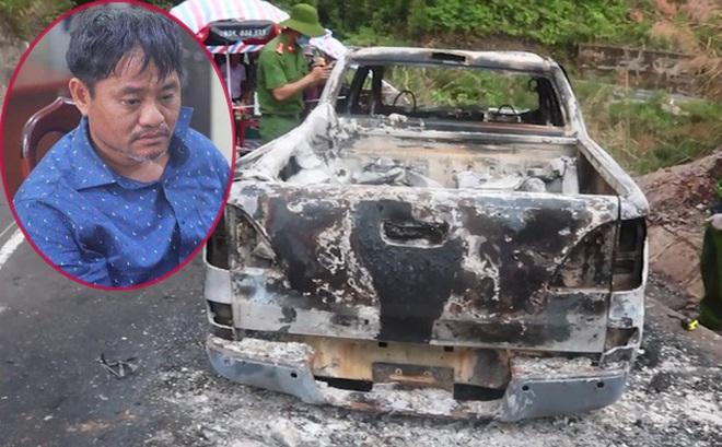 Thùng tiền phúng điếu bất thường trong đám tang bí thư xã giết cháu, đốt xe để trục lợi tiền bảo hiểm