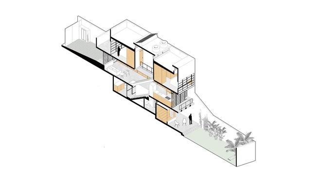 Căn nhà với mặt tiền nhỏ xíu đẹp long lanh sau khi được cải tạo - Ảnh 12.
