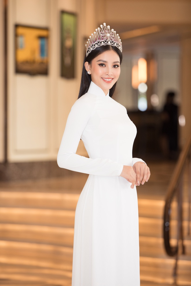 Trần Tiểu Vy đội vương miện, khoe sắc bên dàn mỹ nhân xinh đẹp - Ảnh 3.
