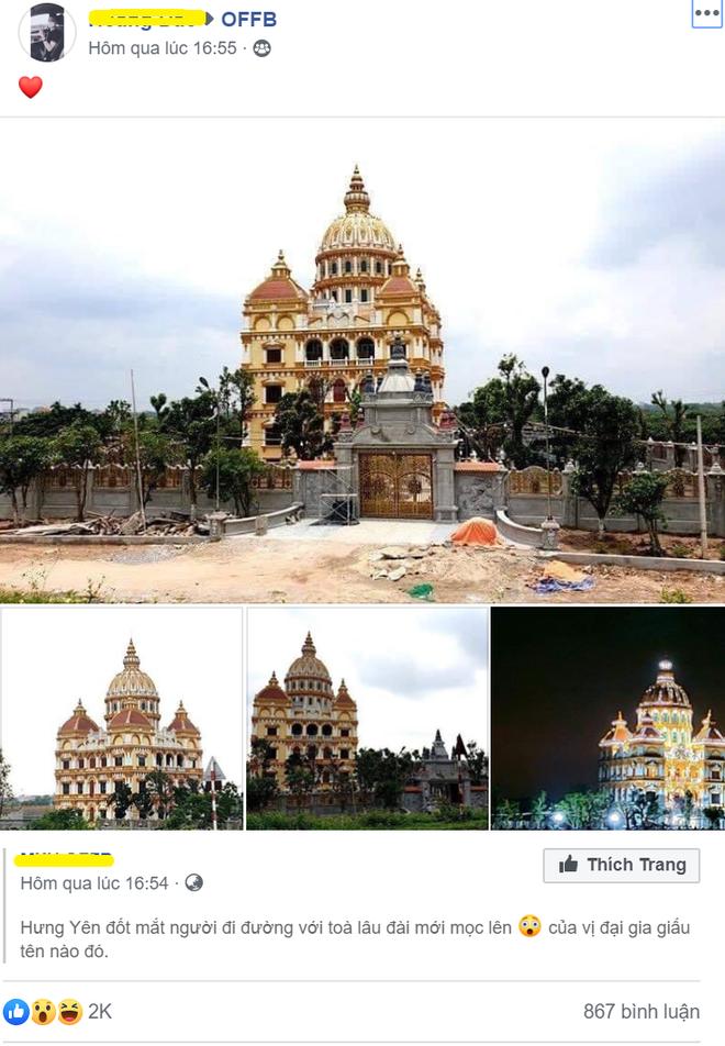 Xôn xao lâu đài khủng của đại gia Hưng Yên - Ảnh 1.