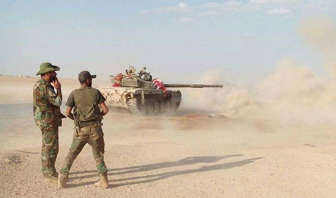 Tiêm kích F-22 Mỹ rơi ngay trên sân nhà - Chiến sự Syria bùng nổ - Ảnh 2.