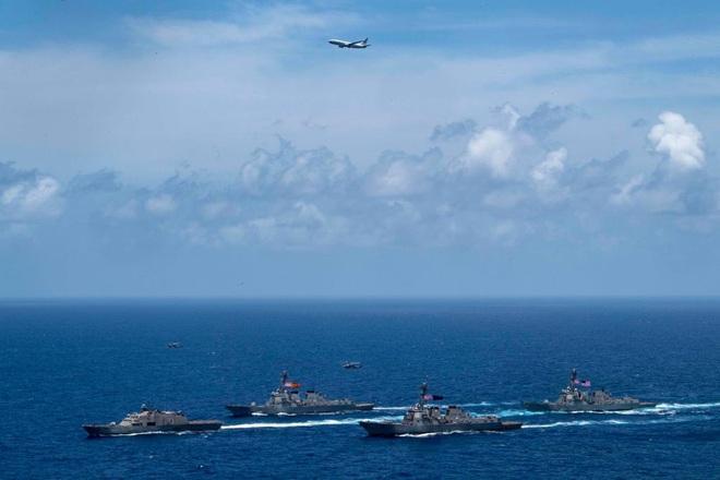 NÓNG: Hải quân Mỹ tung lực lượng hùng hậu chặn bắt 5 tàu dầu Iran - Diễn biến cực kỳ căng thẳng, Iran cảnh báo nóng - Ảnh 6.