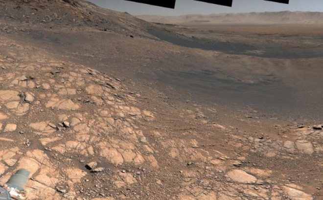 Bề mặt cực chi tiết của sao Hỏa trong bức ảnh 1,8 tỷ pixel của NASA