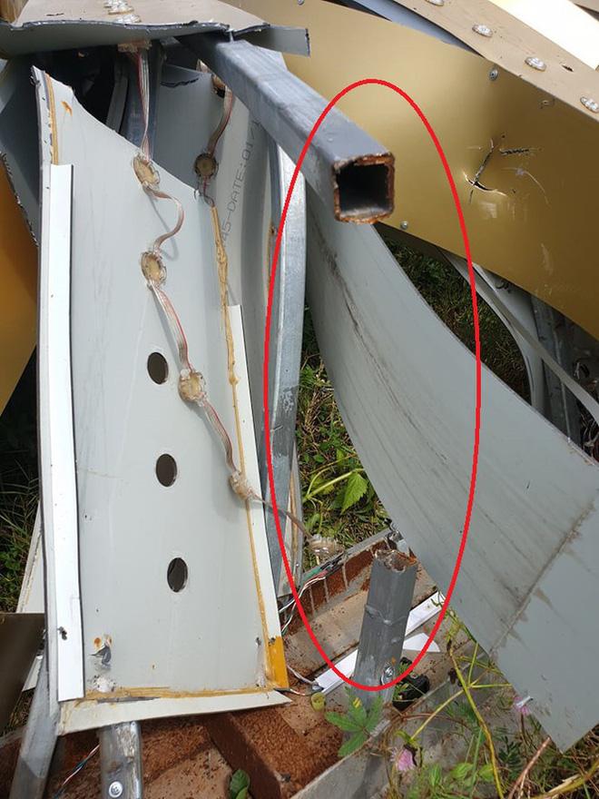 Lộ nguyên nhân công trình 11 tỷ đồng ở TP Vinh đổ gãy chỉ sau trận giông lốc - Ảnh 7.