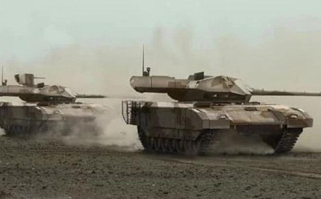 """Lộ lý do siêu tăng T-14 Armata Nga qua mặt tài tình, khiến Mỹ-Thổ """"có mắt như mù"""" ở Syria?"""