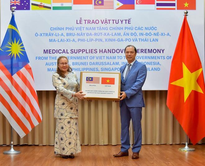Việt Nam hỗ trợ trang thiết bị y tế cho 8 nước đang bị dịch Covid-19 - Ảnh 4.