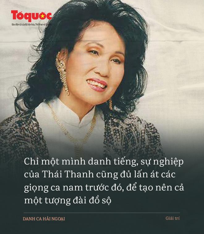 Thái Thanh: Đẳng cấp danh ca khiến Mr Đàm nể phục, Trấn Thành đời đời kiếp kiếp dõi theo - Ảnh 8.