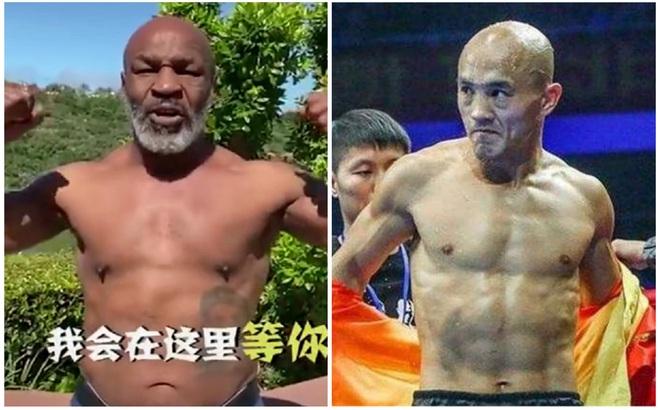 """Mike Tyson bất ngờ """"lên sóng"""" tại Trung Quốc, """"đệ nhất Thiếu Lâm"""" đang run sợ?"""