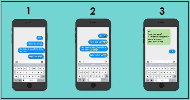 Bạn thường gửi tin nhắn theo cách nào, câu trả lời sẽ tiết lộ tính cách cực kỳ thú vị ở bạn - Ảnh 1.
