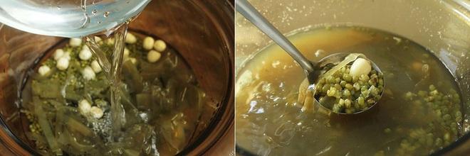 Chè đậu xanh mà nấu thế này thì đảm bảo mát từ trong ra ngoài, thanh nhiệt thải độc siêu hiệu quả - Ảnh 4.