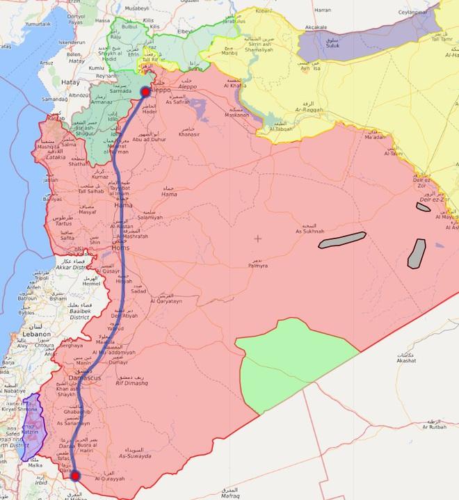 9 năm sau cuộc cách mạng, cơn thịnh nộ của Sư đoàn 4 VBCH sắp quét sạch tây nam Syria? - Ảnh 4.