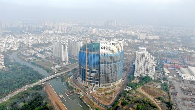 Con đường ven sông trị giá tỷ đô ở Sài Gòn nhìn từ trên cao - Ảnh 2.