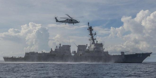 """Tiết lộ nhóm tàu sân bay TQ """"diễu võ giương oai"""" trước mắt chiến hạm Mỹ ở Biển Đông - ảnh 1"""