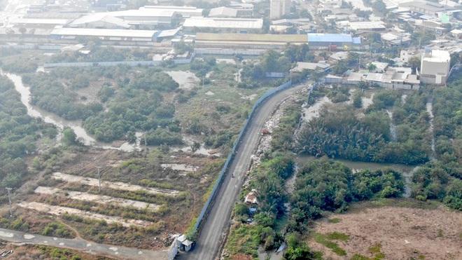 Con đường ven sông trị giá tỷ đô ở Sài Gòn nhìn từ trên cao - Ảnh 13.