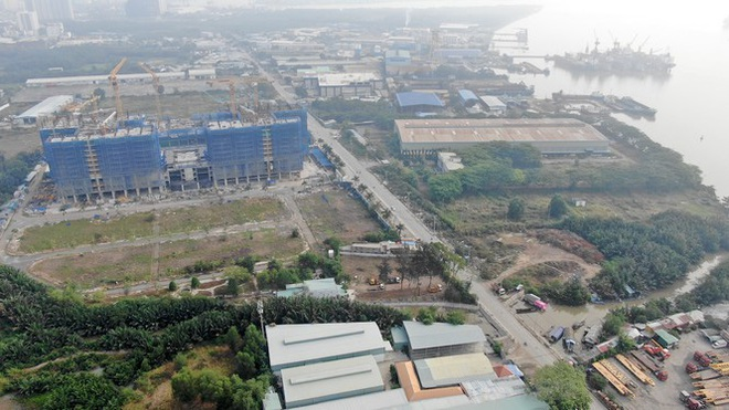 Con đường ven sông trị giá tỷ đô ở Sài Gòn nhìn từ trên cao - Ảnh 14.