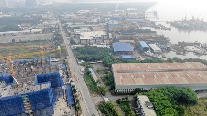 Con đường ven sông trị giá tỷ đô ở Sài Gòn nhìn từ trên cao - Ảnh 15.