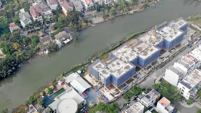 Con đường ven sông trị giá tỷ đô ở Sài Gòn nhìn từ trên cao - Ảnh 16.