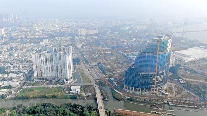 Con đường ven sông trị giá tỷ đô ở Sài Gòn nhìn từ trên cao - Ảnh 4.